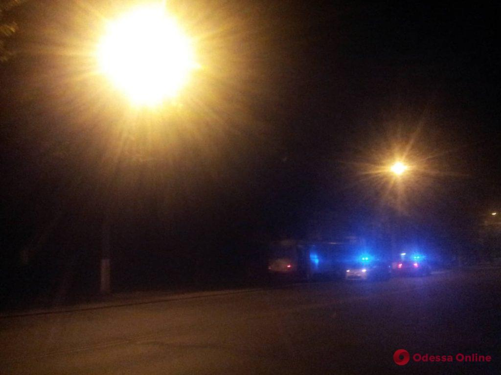 В Одессе на улице Водопроводной трамвай сбил мужчину