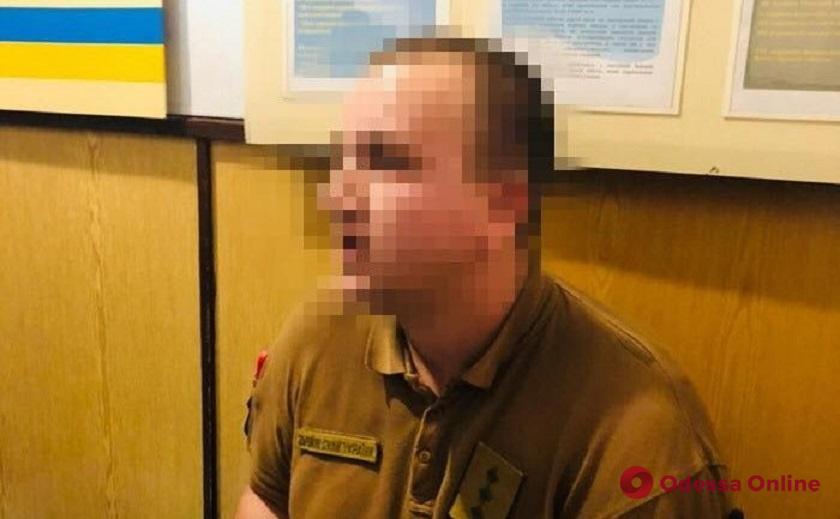 Одесса: военные опровергают информацию об офицере-взяточнике из военкомата