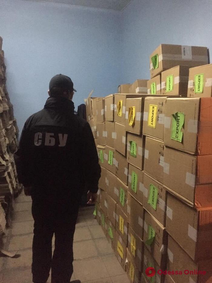 В Одесской области нашли крупный склад сигарет из Приднестровья (фото)
