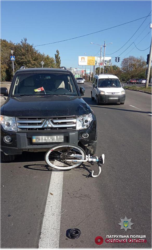 В Одессе сбили еще одного велосипедиста