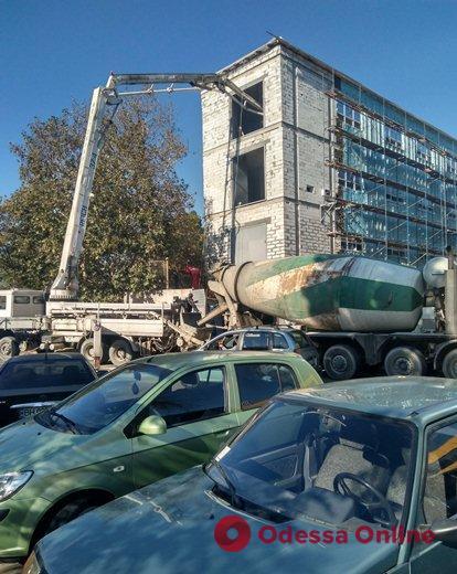 Одесский ГАСК оштрафовал нерадивых строителей на 189000 гривен
