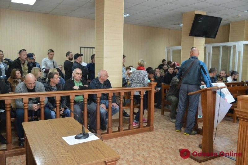 Стрельба на одесской стоянке: с активистов «Самообороны» сняли подозрения