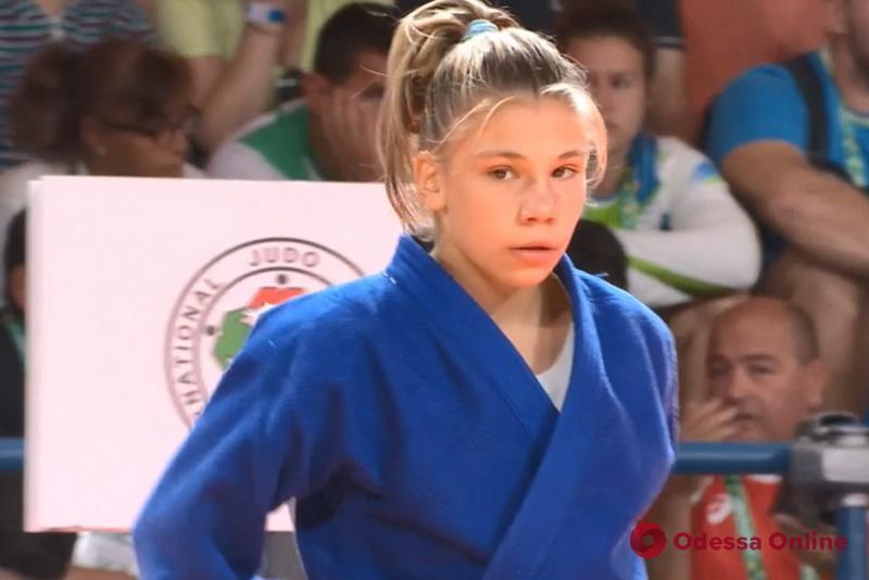 Одесская дзюдоистка остановилась в шаге от «бронзы» Юношеских Олимпийских игр