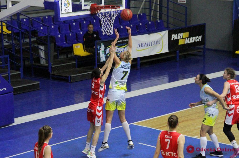 Одесские баскетболистки начинают сезон с яркой победы