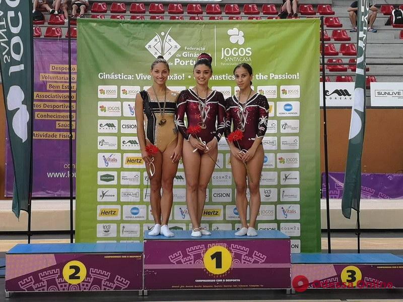 Одесситы завоевали медали крупного международного турнира по прыжкам на батуте
