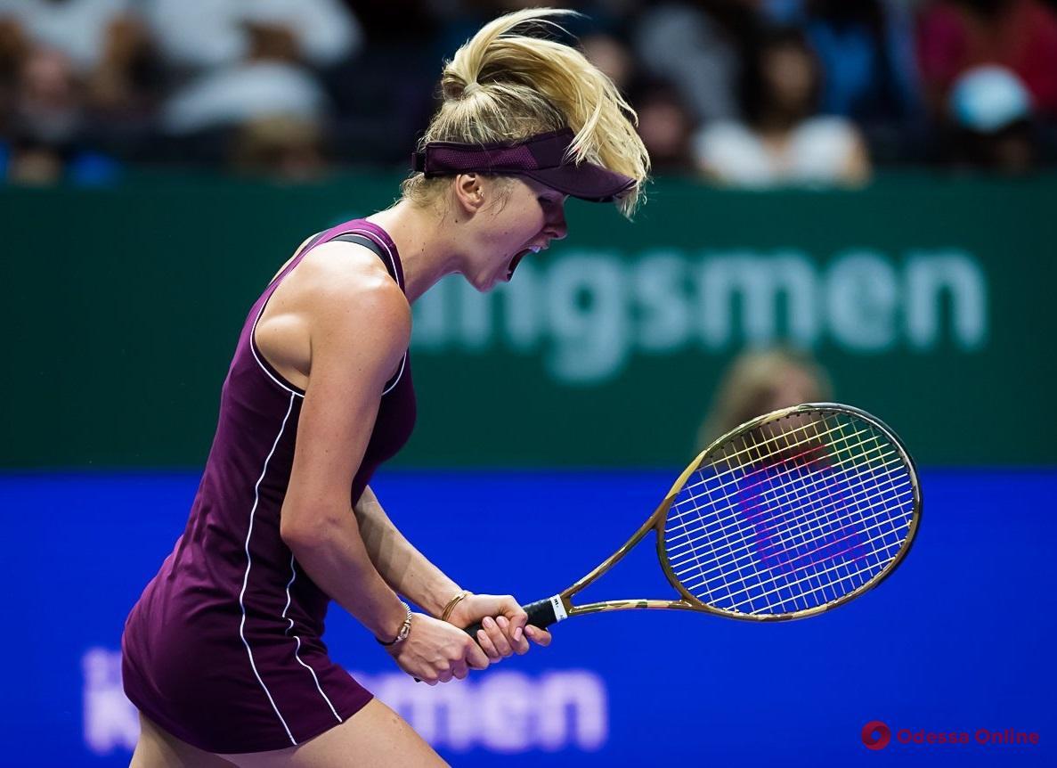 Одесская теннисистка – в финале Итогового турнира WTA