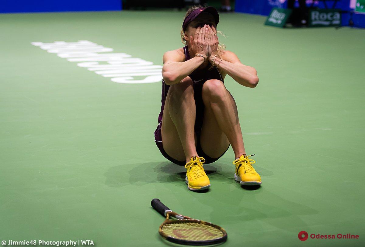 Теннис: обессиленная уроженка Одессы проиграла важнейший матч в Китае