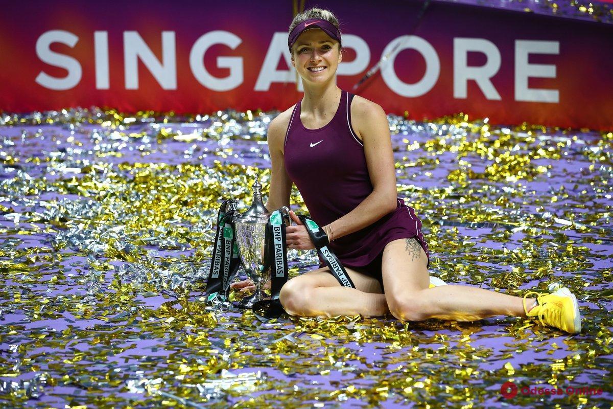 Теннис: уроженка Одессы сохраняет шансы на попадание на Итоговый турнир WTA