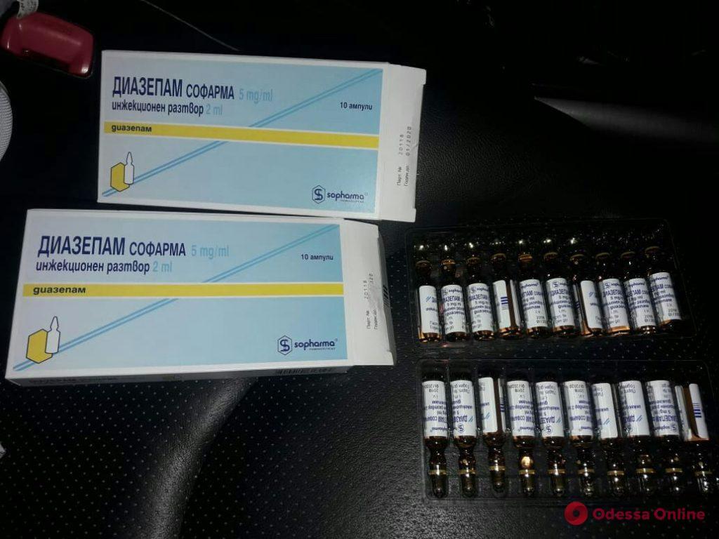 В Одесской области пограничники обнаружили психотропные препараты