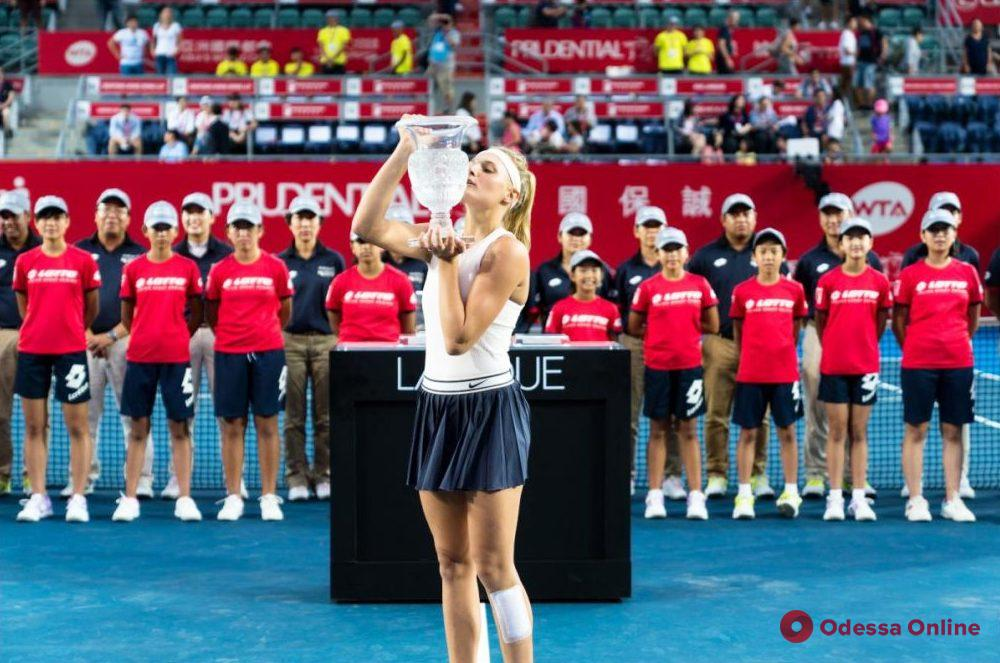 Одесская теннисистка – эксклюзивно о яркой победе в Гонконге, поддержке на родном языке и традиционном шопинге