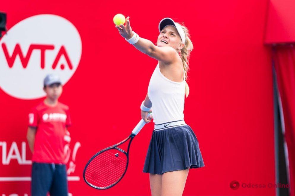 Одесская теннисистка на характере побеждает американку в трехчасовом триллере в Люксембурге
