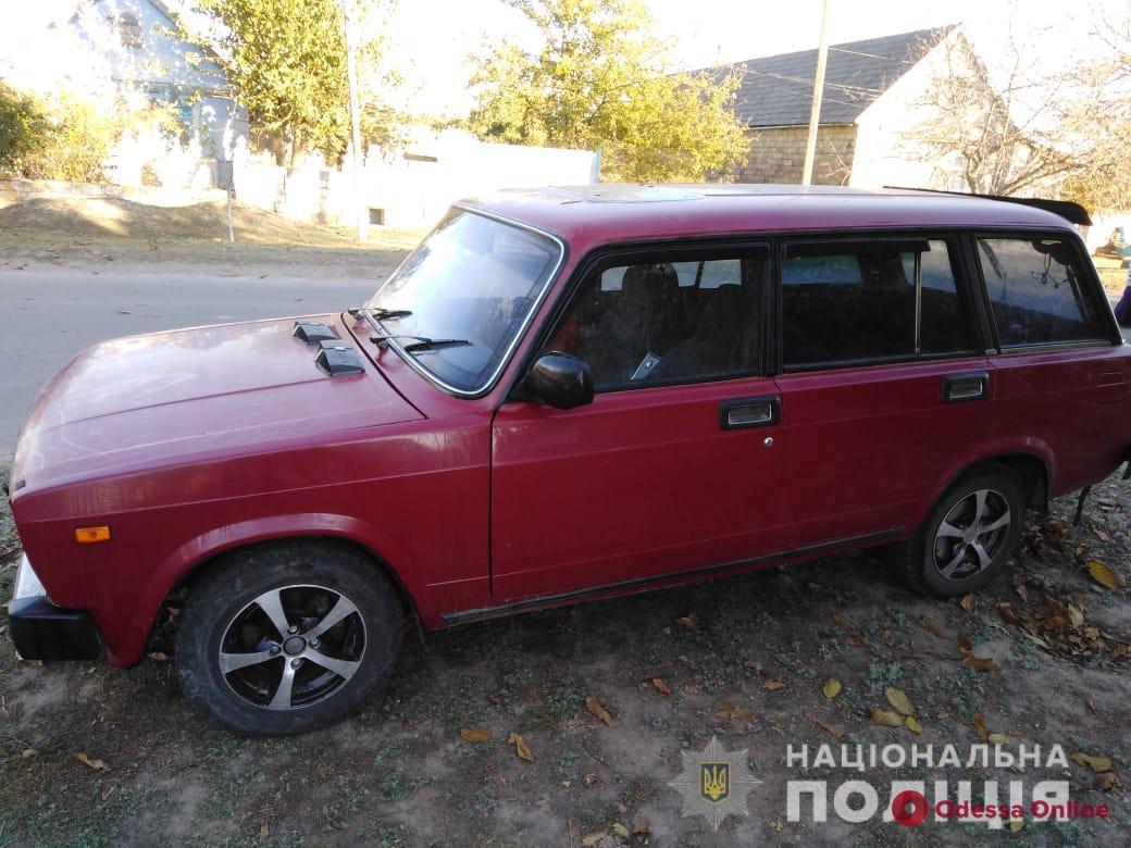 В Одесской области мужчина угнал машину у спящего знакомого