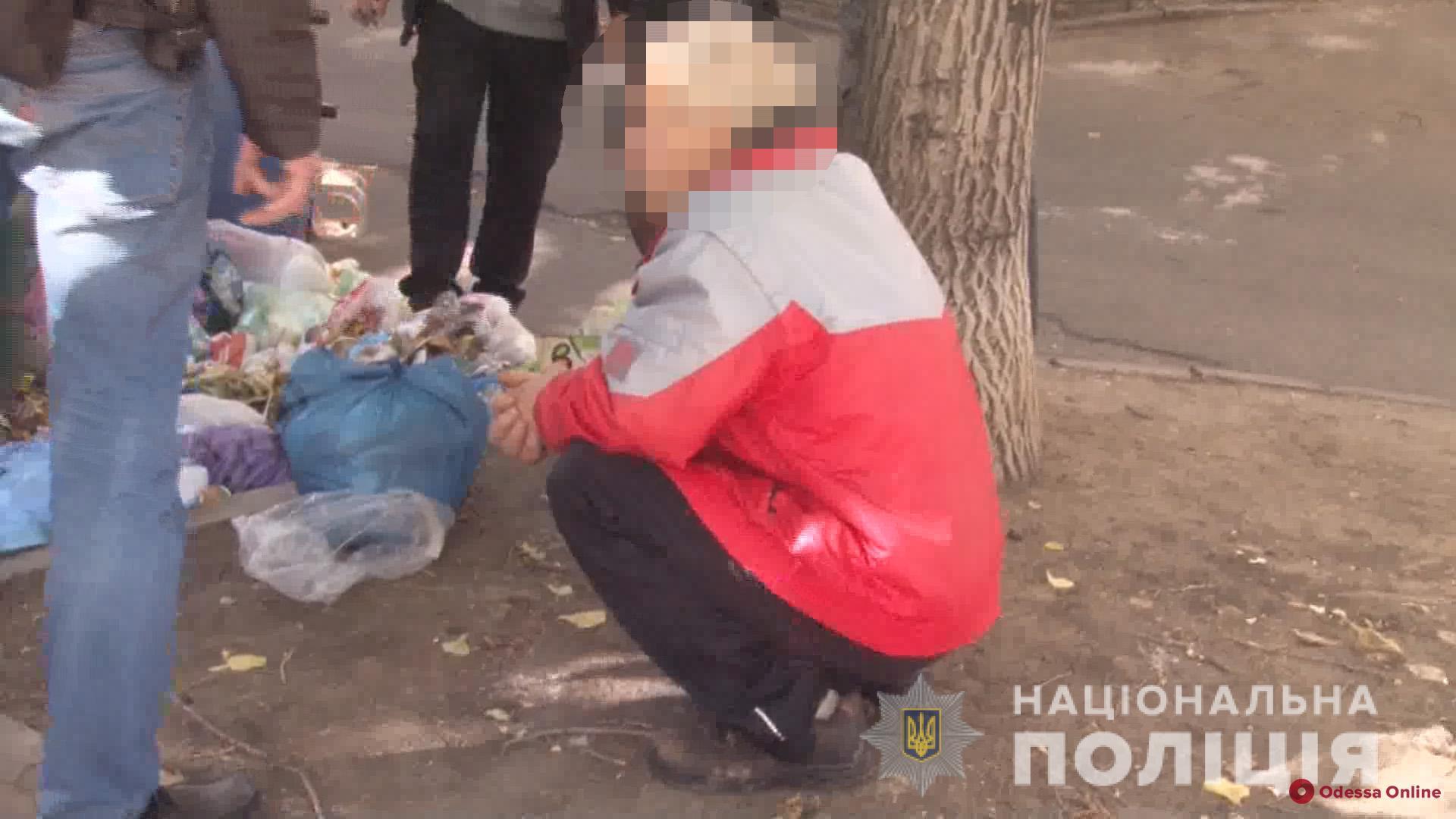 В Одессе сын забил до смерти пожилую мать и пытался повеситься (видео)