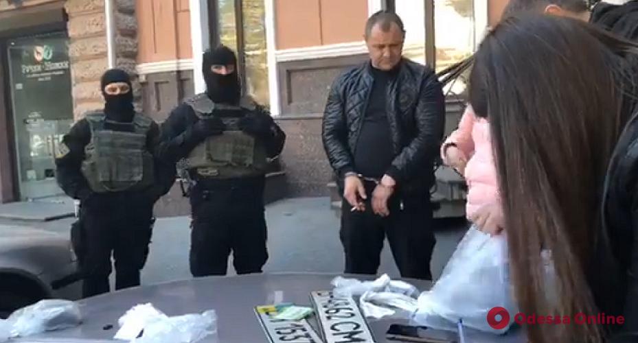 В Одессе задержали за вымогательство руководителя одной из общественных организаций