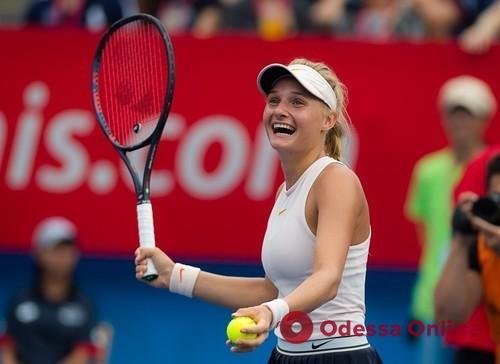 Юная одесская теннисистка уверенно разобралась с экс-первой «ракеткой» мира в Люксембурге