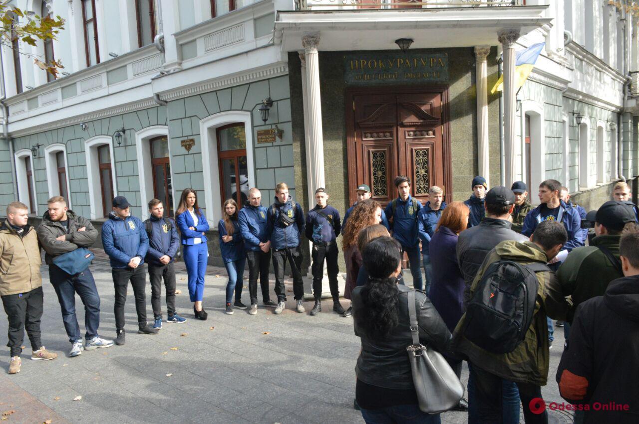 Дело овец: активисты и зоозащитники пикетировали Одесскую облпрокуратуру