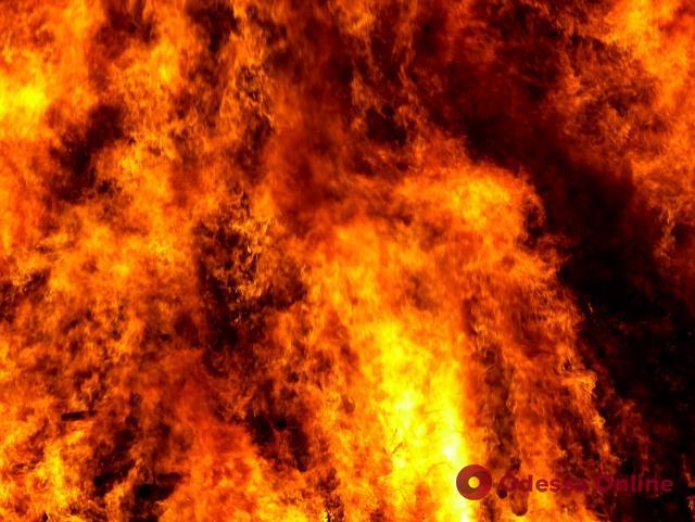 В Одессе при пожаре погибла пожилая женщина