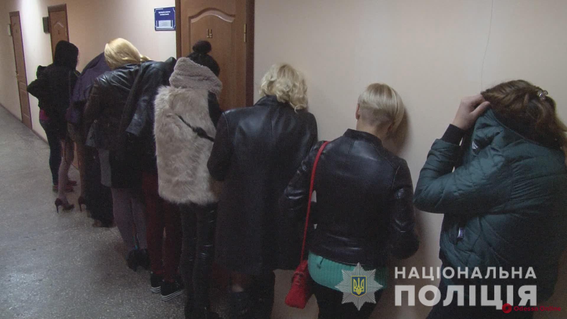 Борьба с проституцией: правоохранители провели рейд в центре Одессы (видео)