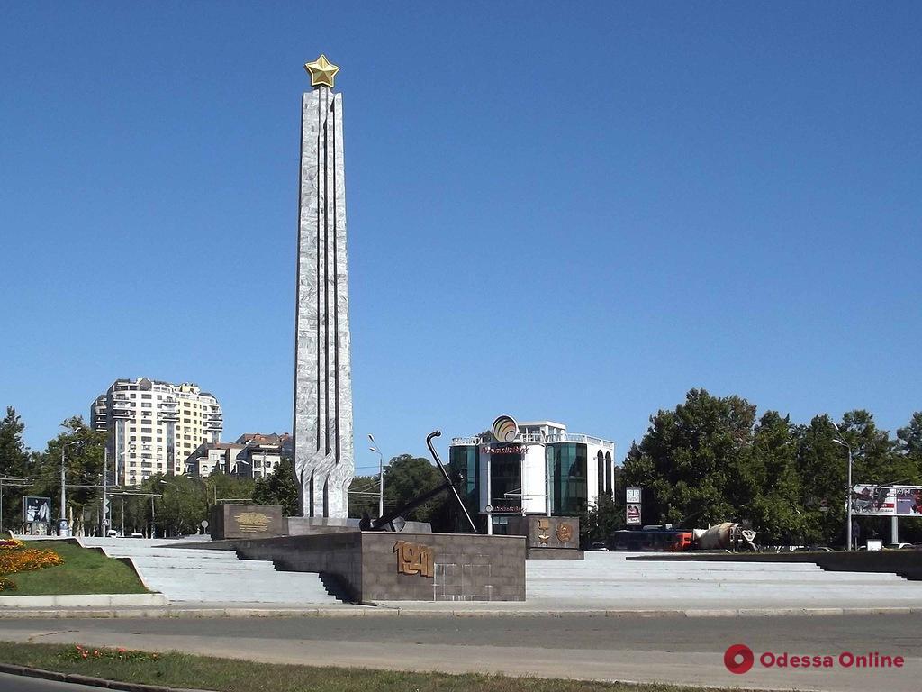 В Одессе «заминировали» площадь 10 Апреля (обновлено)