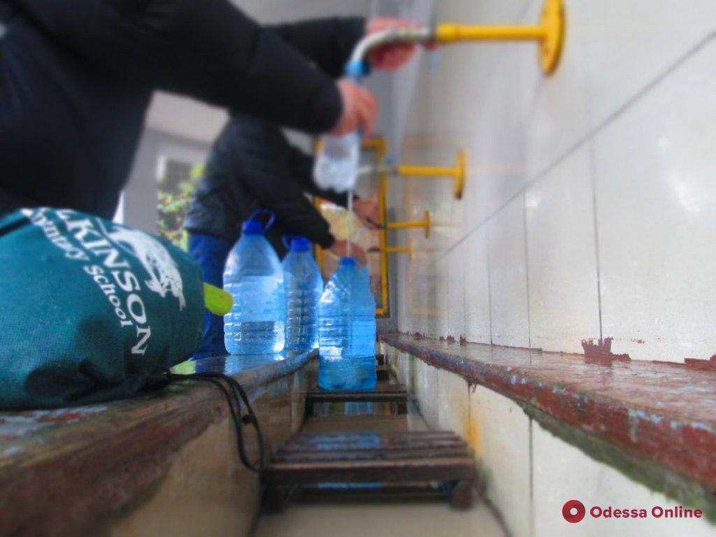 Одесса: бювет на 6-й станции Фонтана закрывается на ремонт