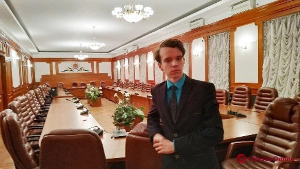 Одесский девятиклассник победил на всеукраинской олимпиаде по философии