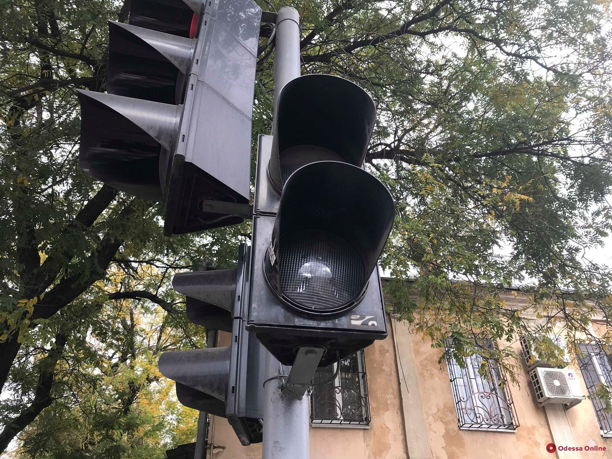 На одной из улиц Молдаванки на два дня отключили светофор