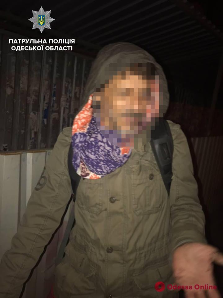 В Одессе у 53-летнего велосипедиста нашли наркотики