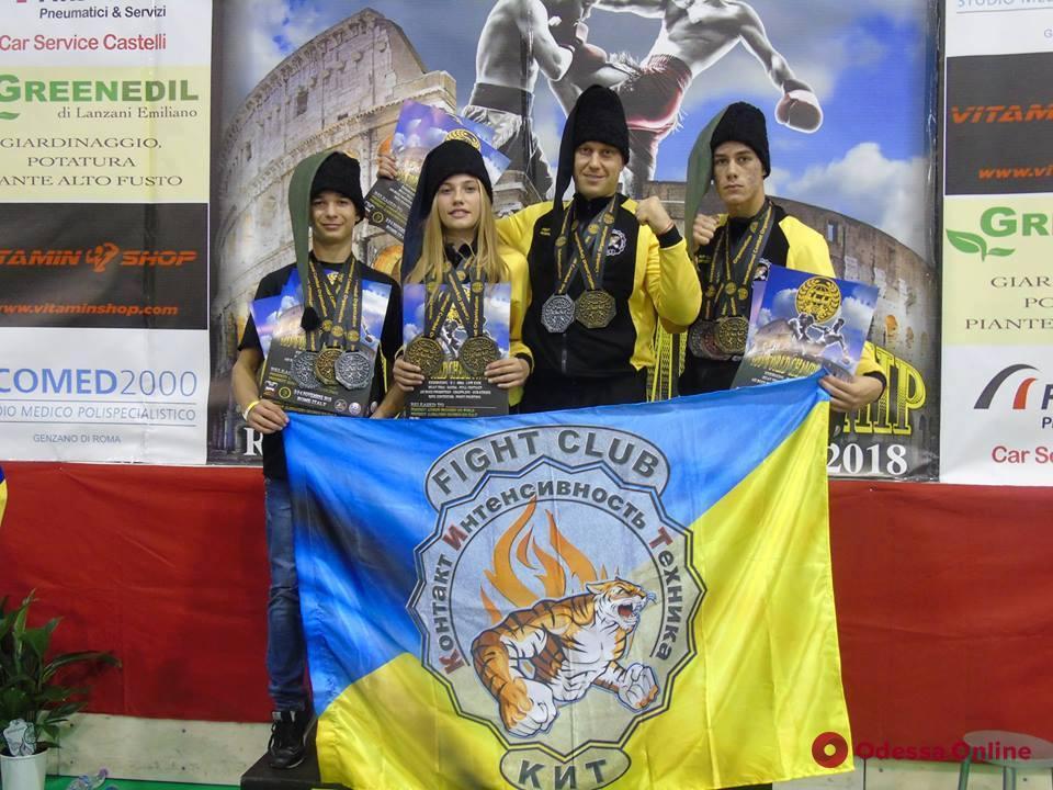 Представители Одесской области завоевали 12 медалей чемпионата мира по комбат самозащите ICO