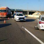 Под Одессой столкнулись три автомобиля – пострадали двое детей и мужчина