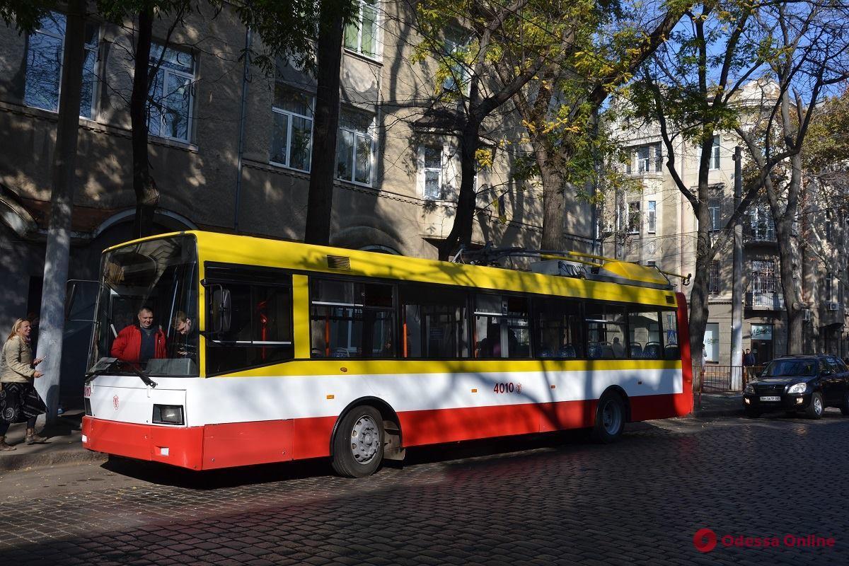 Одесса: в марте на линию выйдет первый электробус