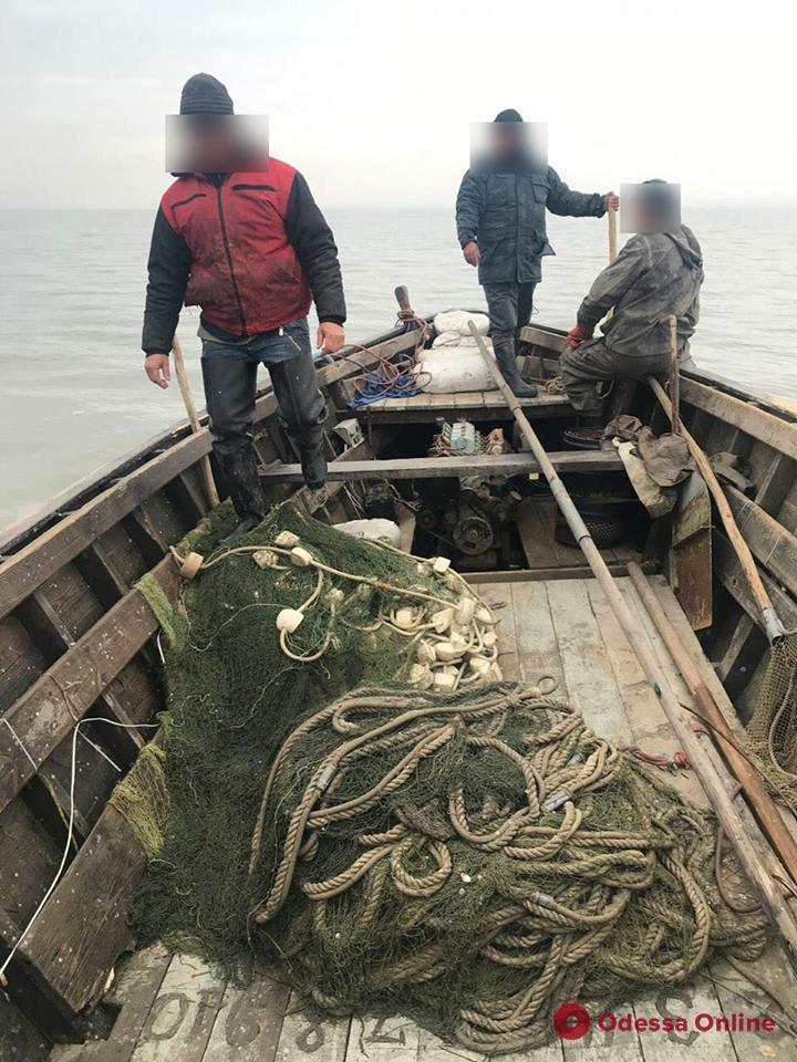 В Одесской области поймали группу браконьеров