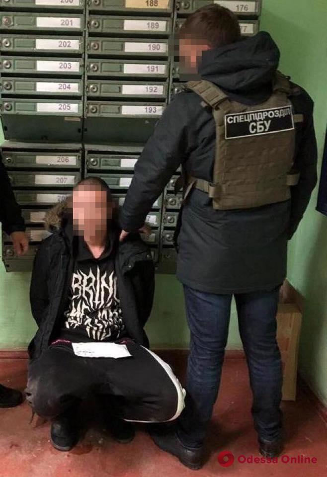 В Одесской области блокировали международный канал поставки «психотропов» (фото)