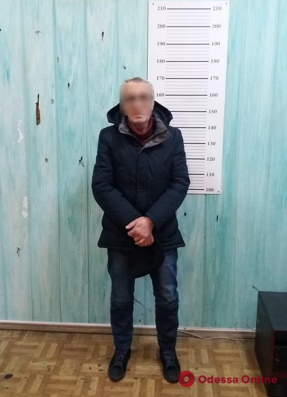 В Одессе задержали грузинского карманника