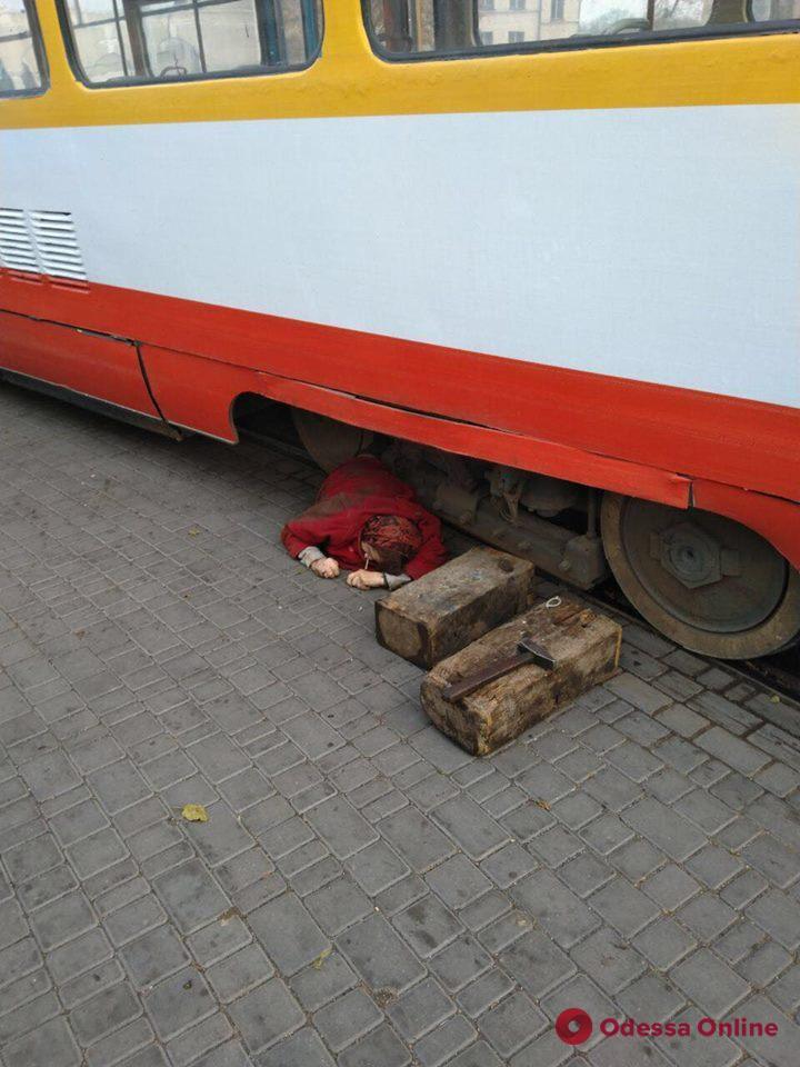 В Одессе пожилую женщину насмерть переехал трамвай