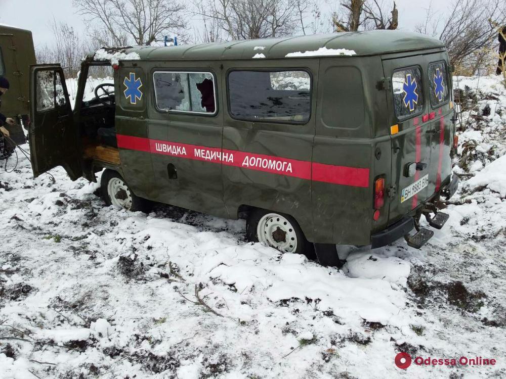 В Одесской области «скорая» перевернулась вместе с пациентом (фото)