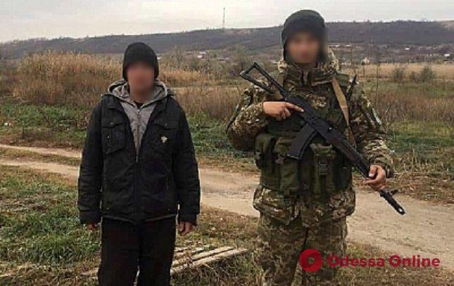 В Одесской области молдаванин пытался незаметно пересечь границу