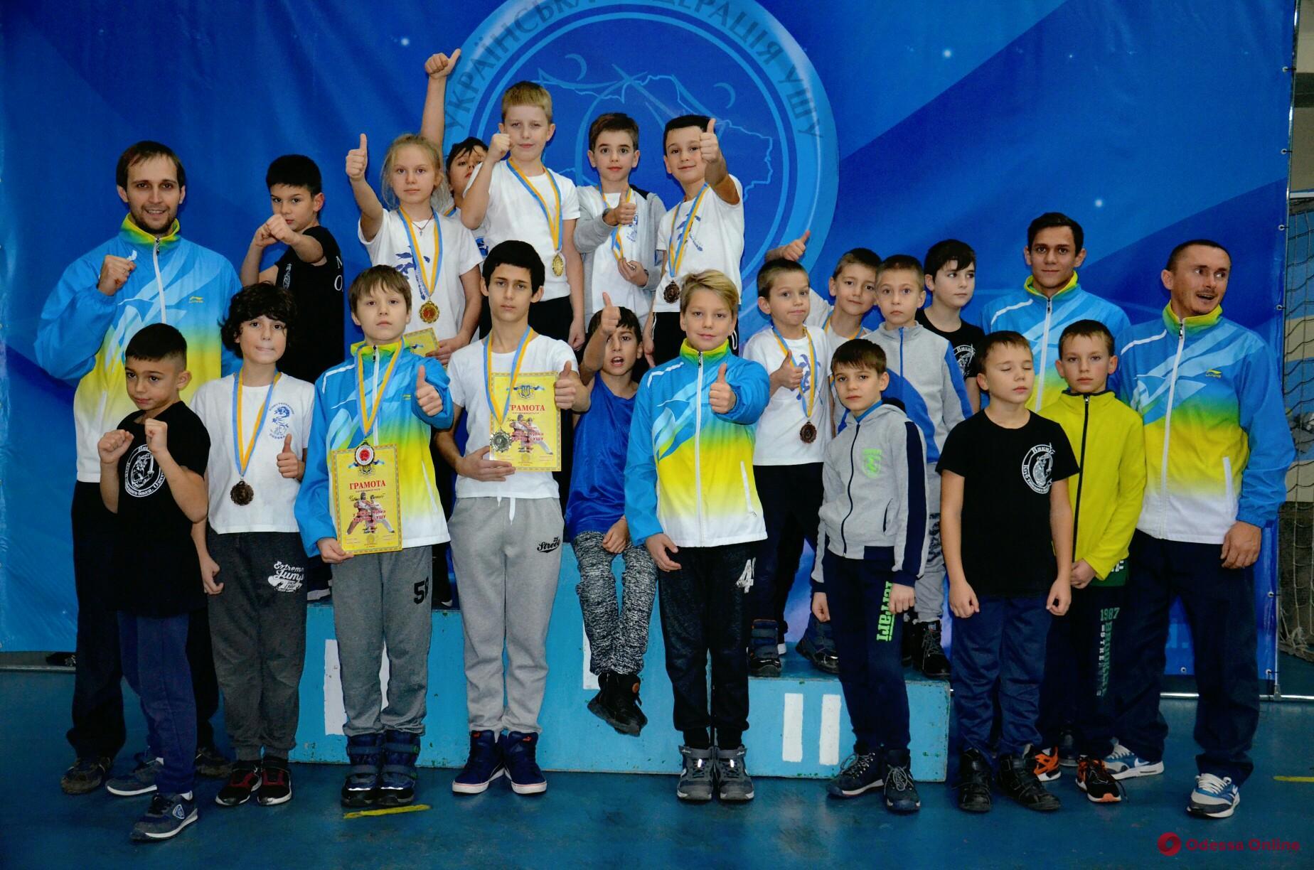 Одесситы завоевали два десятка медалей в рамках Финала Кубка Украины по контактному ушу