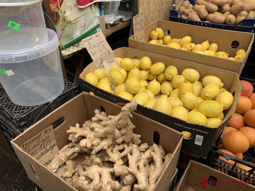 Имбирь, калина и зеленые бананы: актуальные цены на одесском «Привозе»