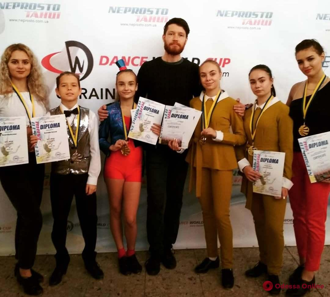 Одесситы блестяще выступили в Кубке Украины по степу