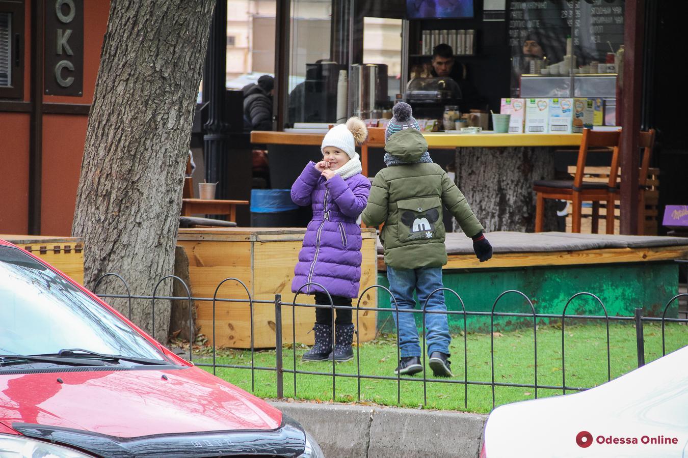 Одесса в последний день осени (фоторепортаж)