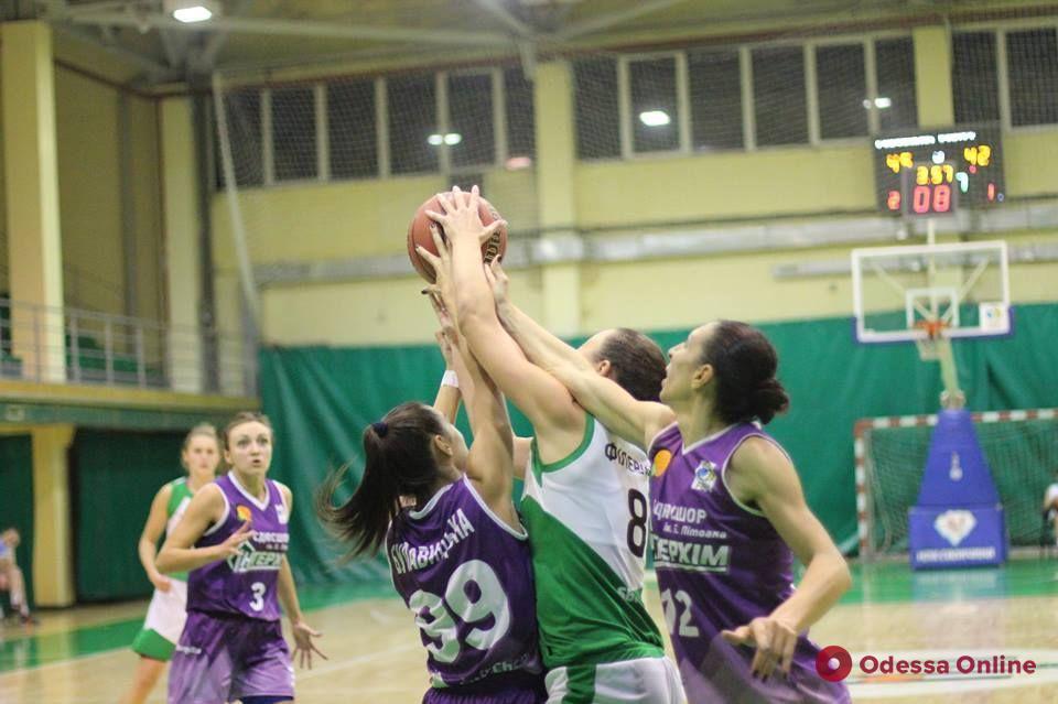 Одесские баскетболистки поднялись на третье место в турнирной таблице украинской Суперлиги