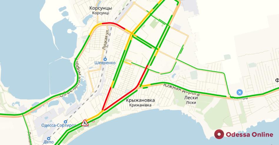 Одесские пробки: проблемный поселок Котовского