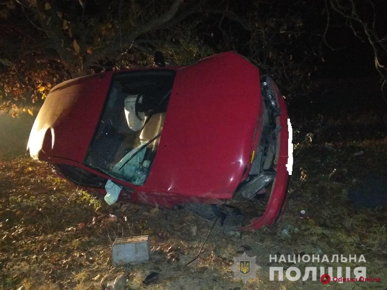 Смертельное ДТП в Одесской области: авто вылетело в кювет и перевернулось