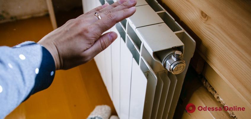 В Одессе тепло появилось в 56% домов