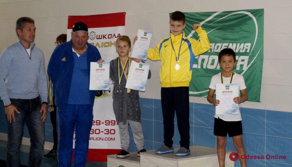 В Одессе прошли крупные соревнования по плаванию