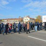 """Южную дорогу перекрыли жители ЖК """"Европейский """" – в их квартирах все еще без тепла"""