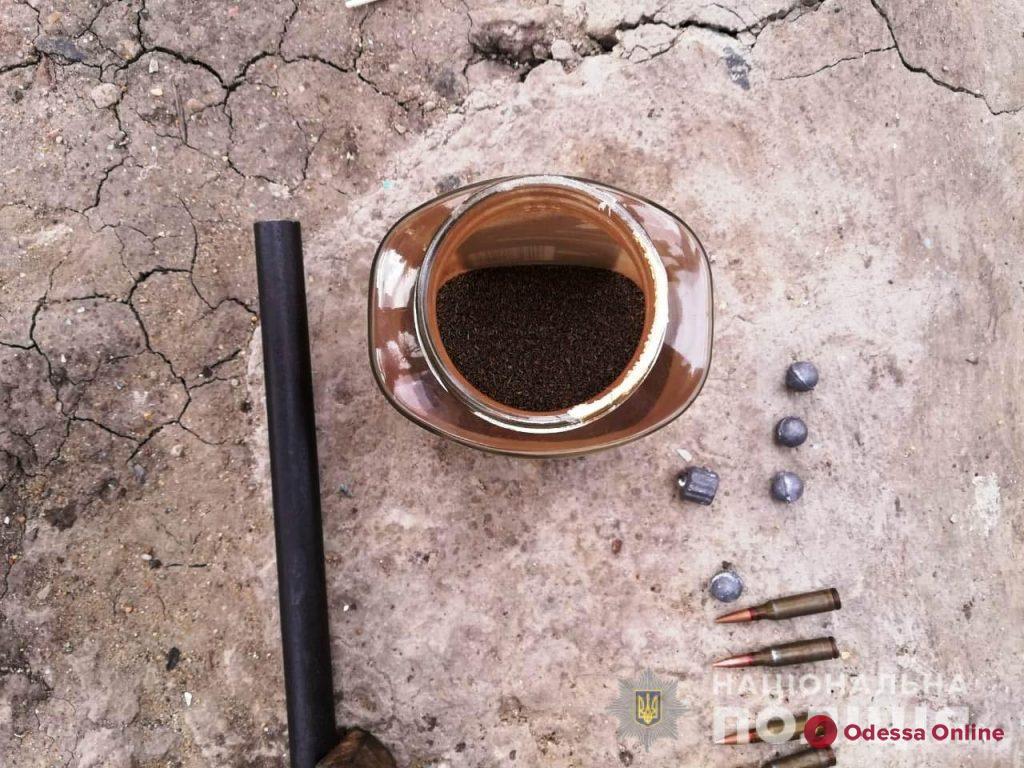 У жителя Одесской области отобрали оружие и боеприпасы