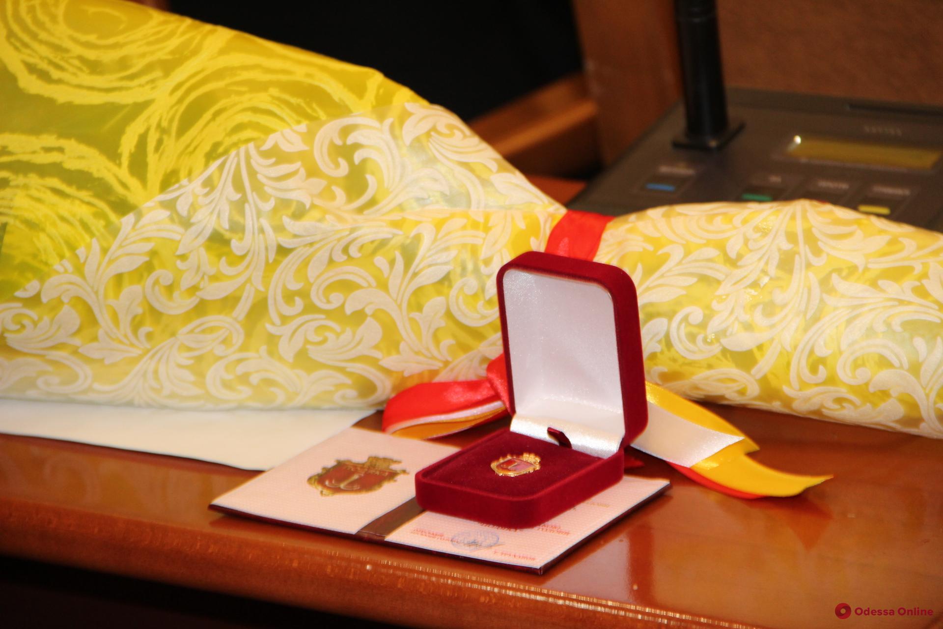 В Международный день инвалидов в Одесской мэрии вручали награды