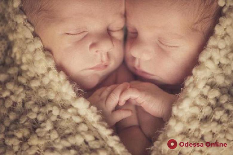 В Одессе на минувшей неделе родились две двойни