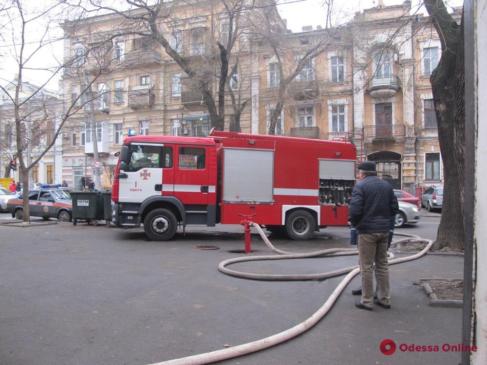 На Новосельского горела квартира
